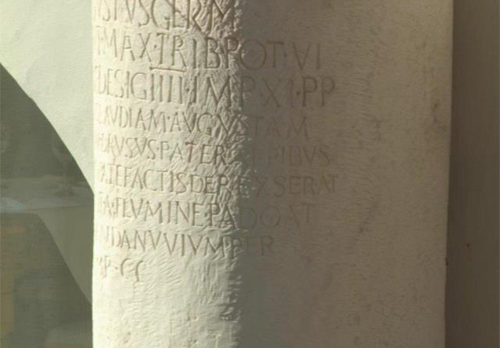 Römischer Meilenstein Partschins