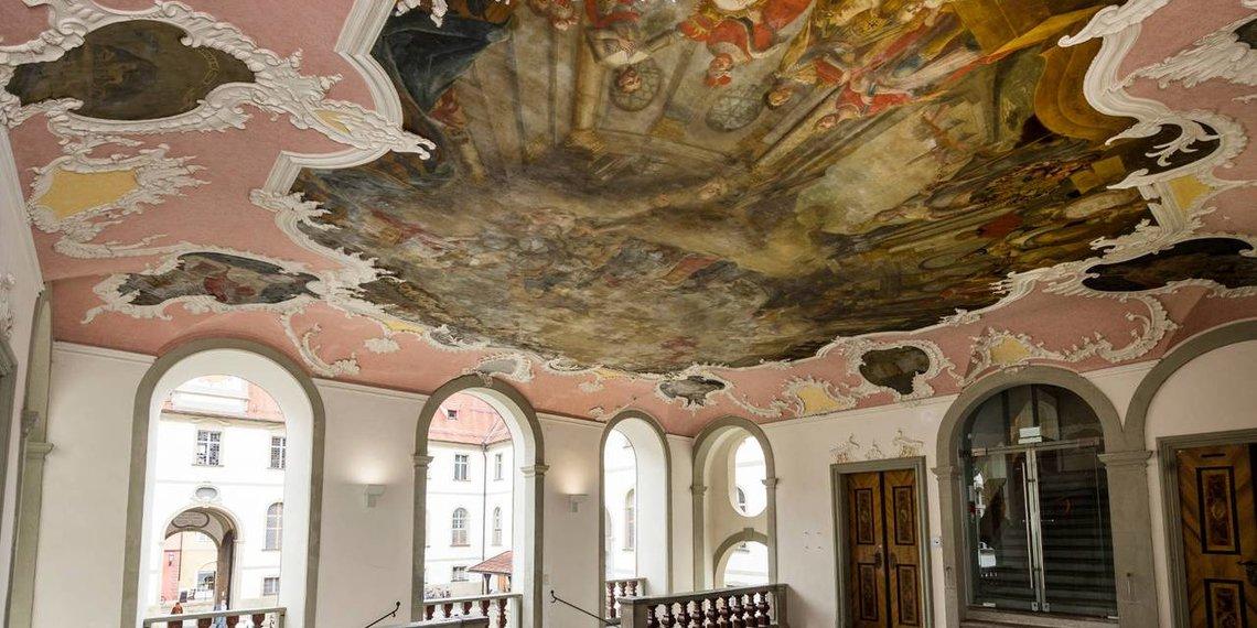 Gruppenprogramm Stadtführung Kloster in Füssen