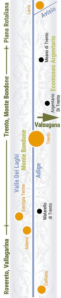 Übersichtskarte rechts Teilabschnitt 31p Trento