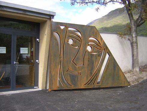 Eingang Prokulusmuseum