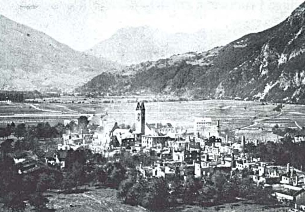 Zams Dorfbrand 1911