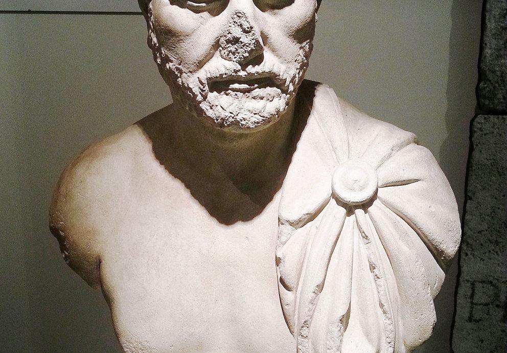 Claudius Paternus Büste, Foto Platschka
