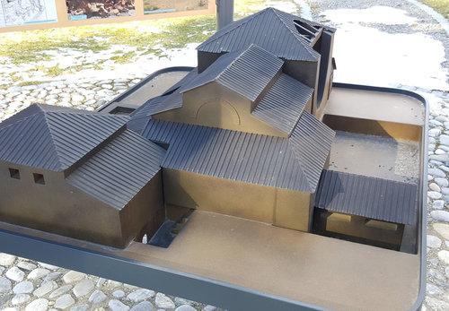 Mithraeum Modell Platschka