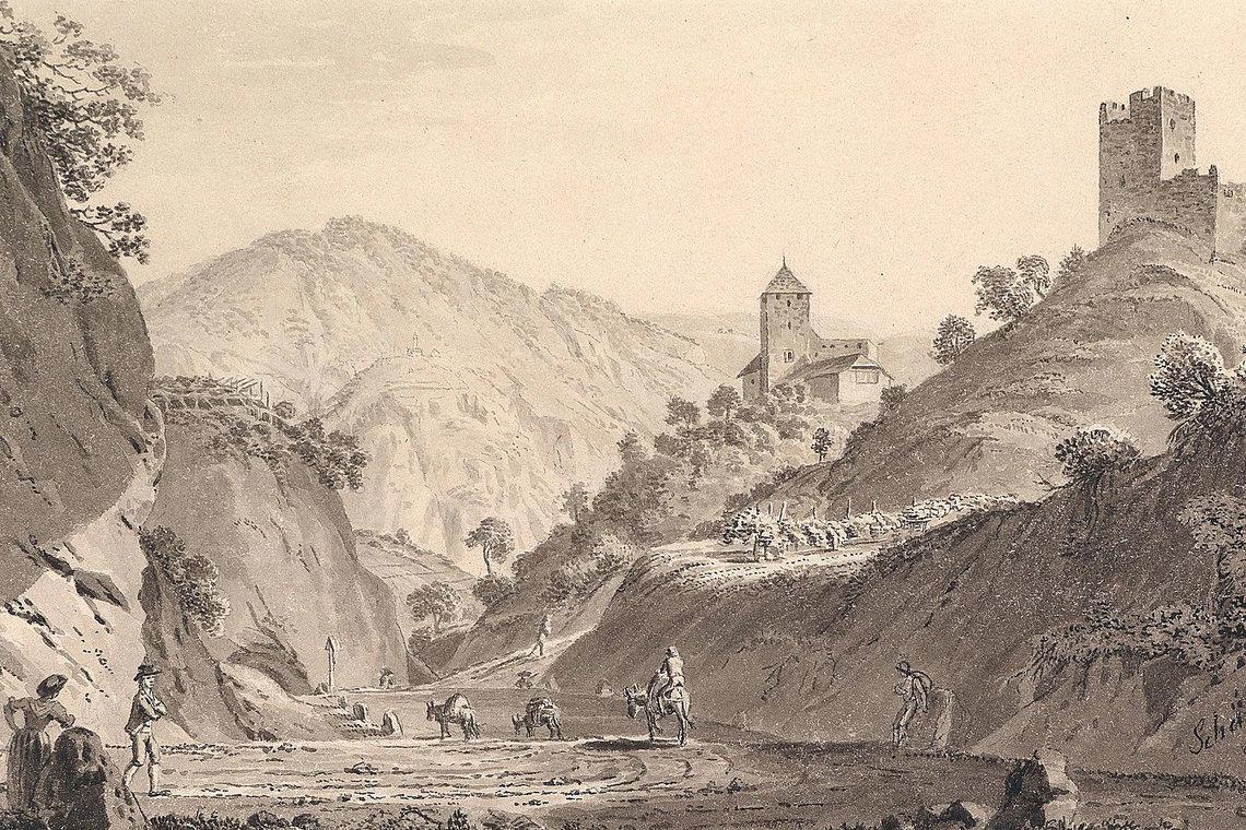Ruine Altenburg, Burg Warth bei St. Pauls