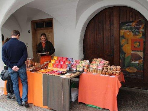 Laubenmarkt Glurns