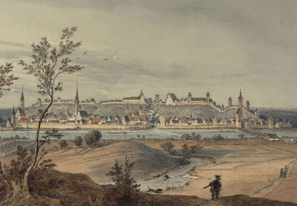 Landsberg am Lech um 1600