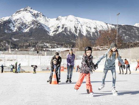 Winter Imst Tourismus Eislaufen