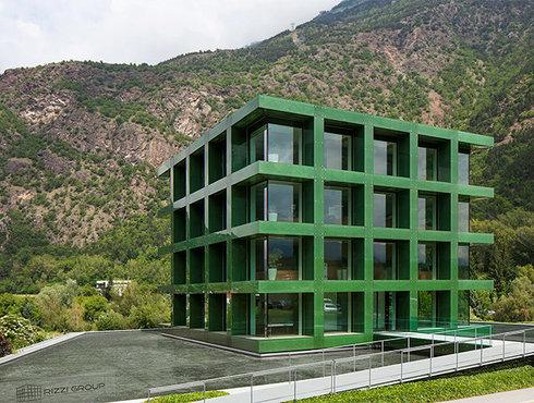 Architekt Werner Tscholl Latsch Bürobau