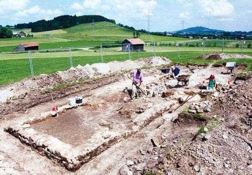Ausgrabungen