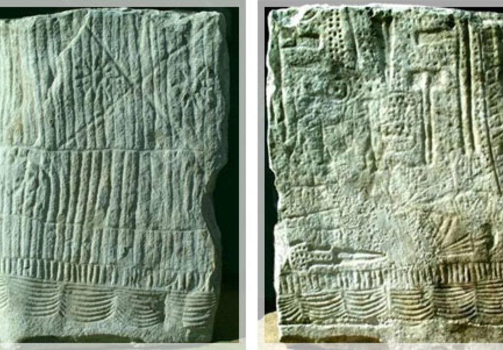Statuen Menhir Latsch