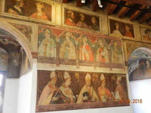 la sala dei vescovi
