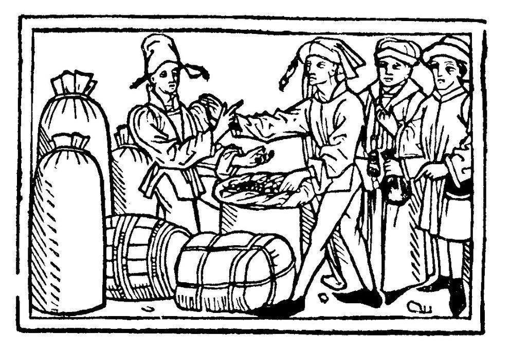 Salzfass Handel