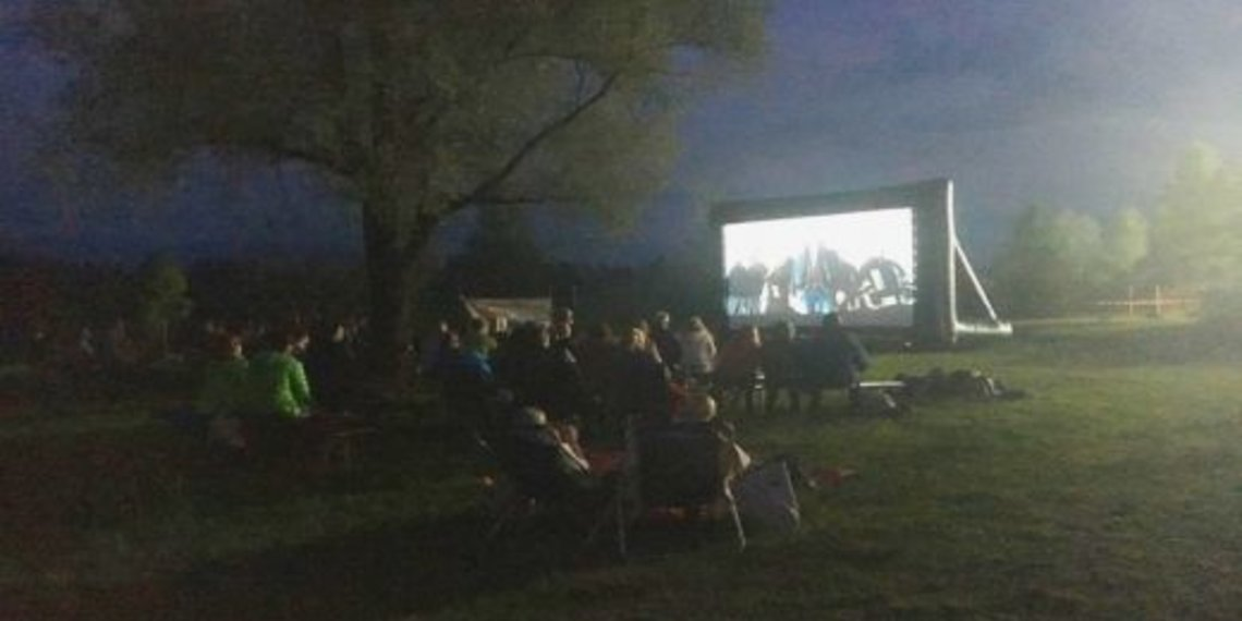 Open Air Kino, c Carola Stange