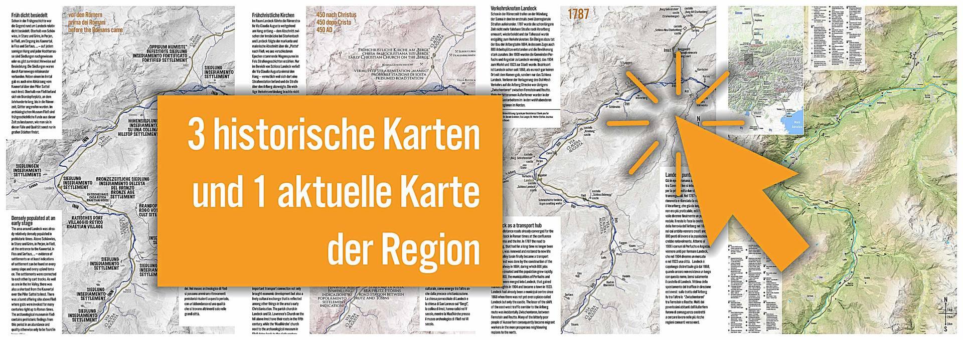 Historische Karten mit Ausgabe in ISSUU