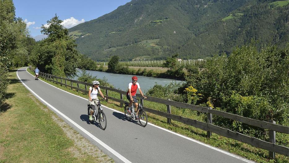 Naturns Radtour