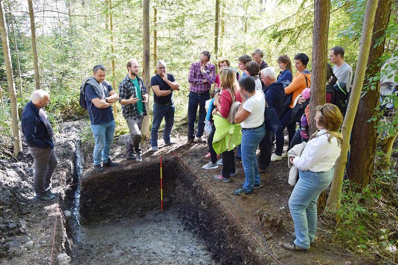 Führung archäologische Grabung Dollinger Lager