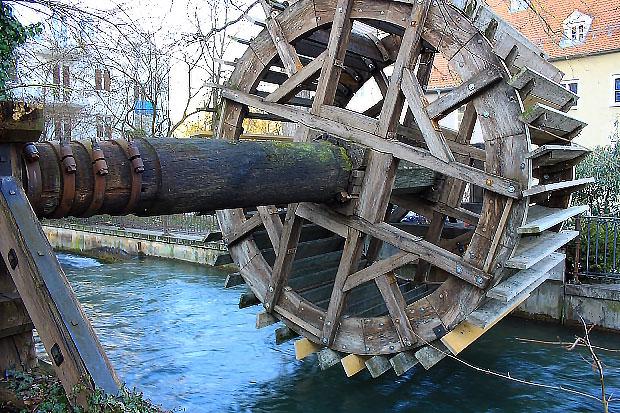 Wasserrad Augsburg