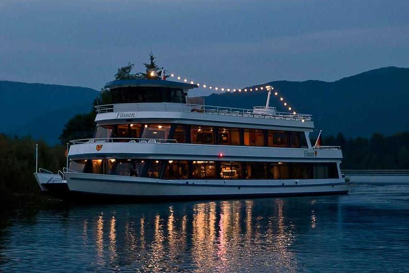 Abendfahrt Schiff Forggensee