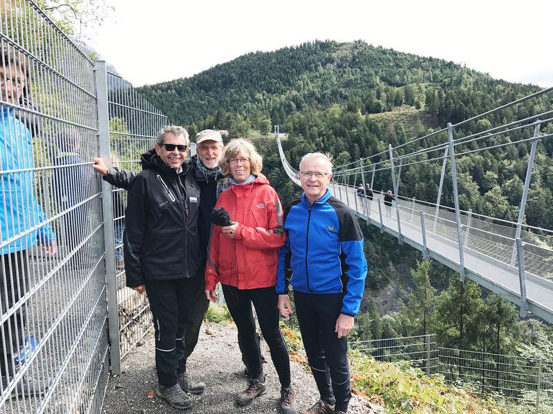 Eva Firzlaff Armin Walch Highline Ehrenberg
